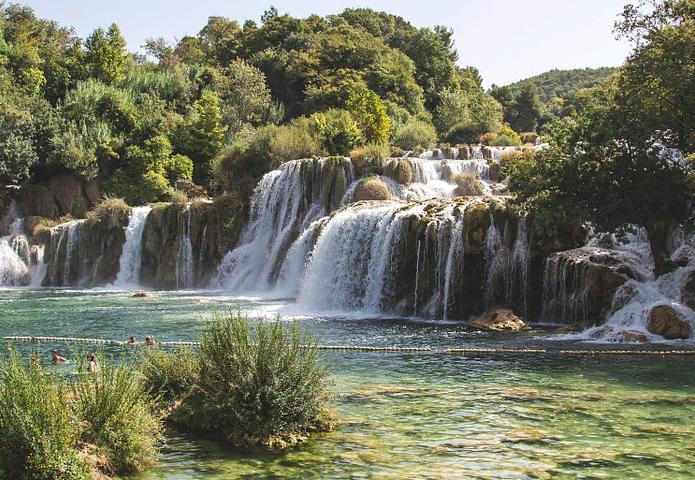 Croatia, waterfall, national park