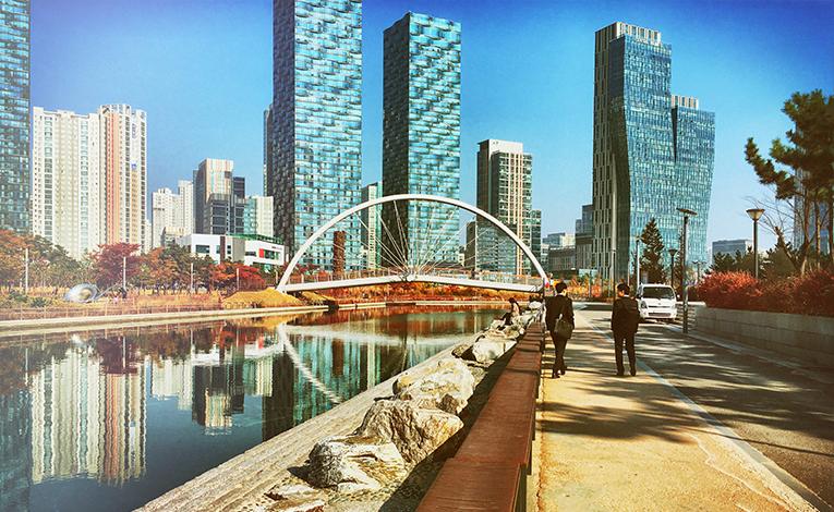 Bridge in Incheon, South Korea