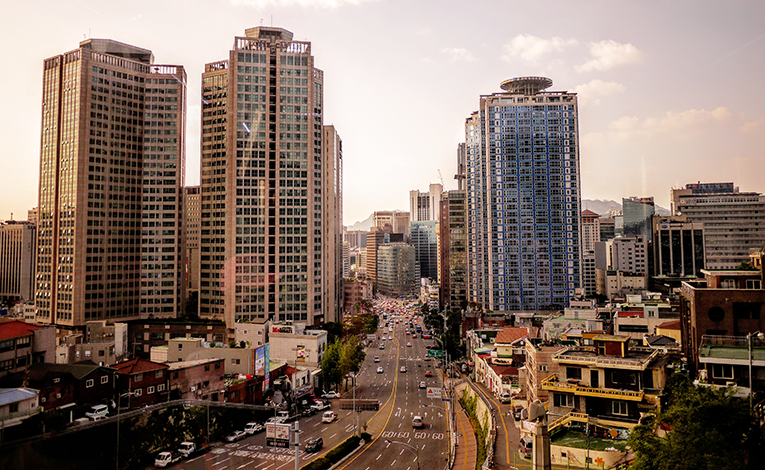 High-rises in Seoul, South Korea