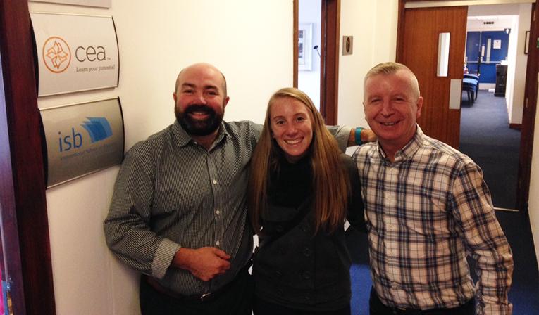 CEA Study Abroad staff in Dublin, Ireland