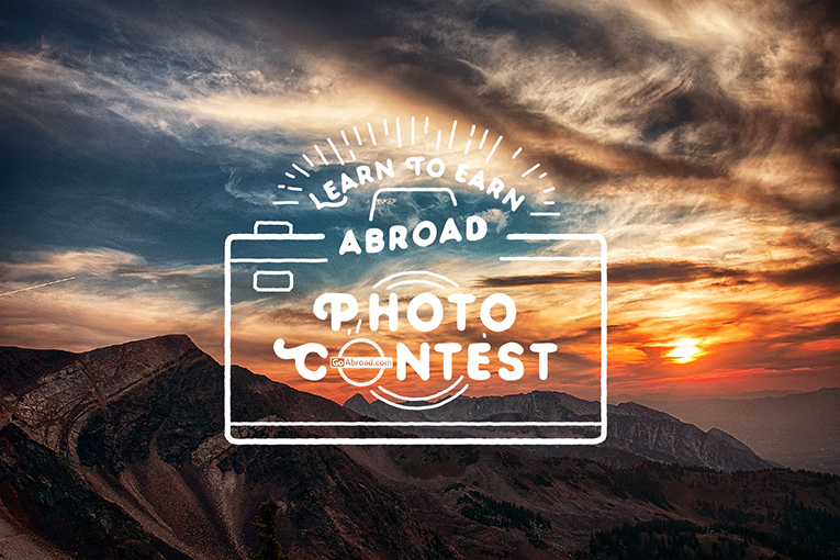 GoAbroad Learn to Earn Photo Contest Logo 2015