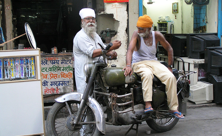 Two Indian men