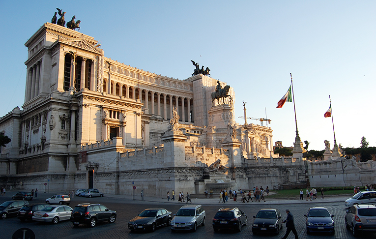 Capital Building in Rome, Italy