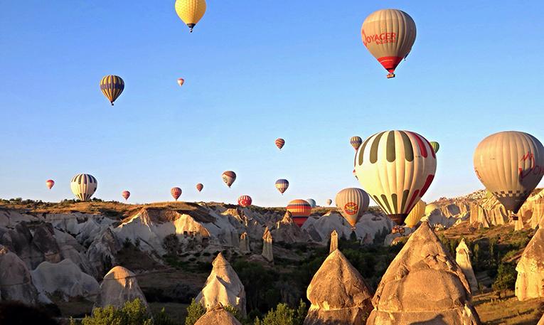 Hot Air balloons inCappadocia,Turkey