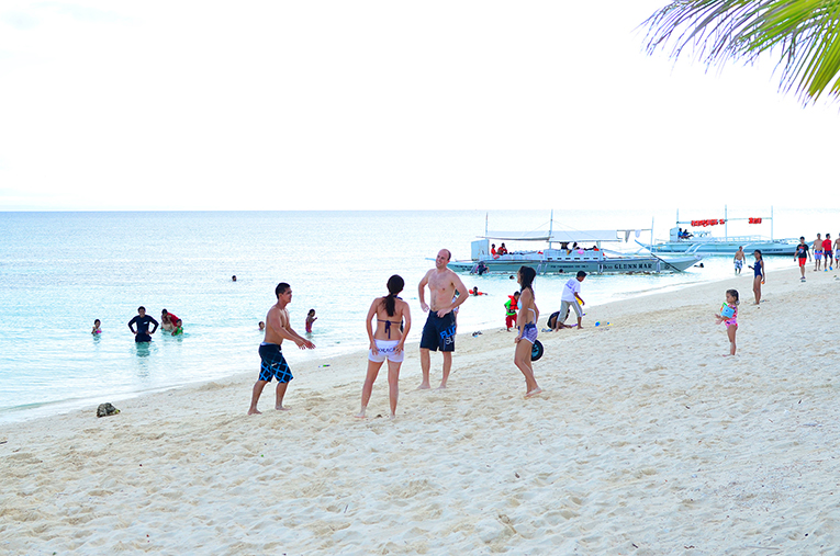 Kalanggaman Island, just one of the pristine beaches you can visit in the Visayas region.