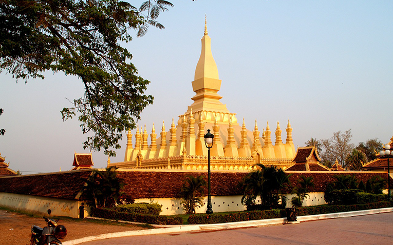 Wat Pha-That Luang, Vientiane, Laos