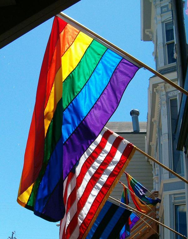 Rainbow flag for LGBT