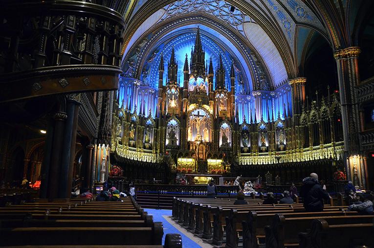 The Basilique Notre-Dame