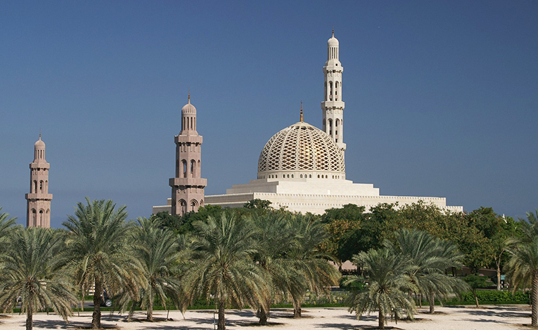 Mosque in Muscat, Oman
