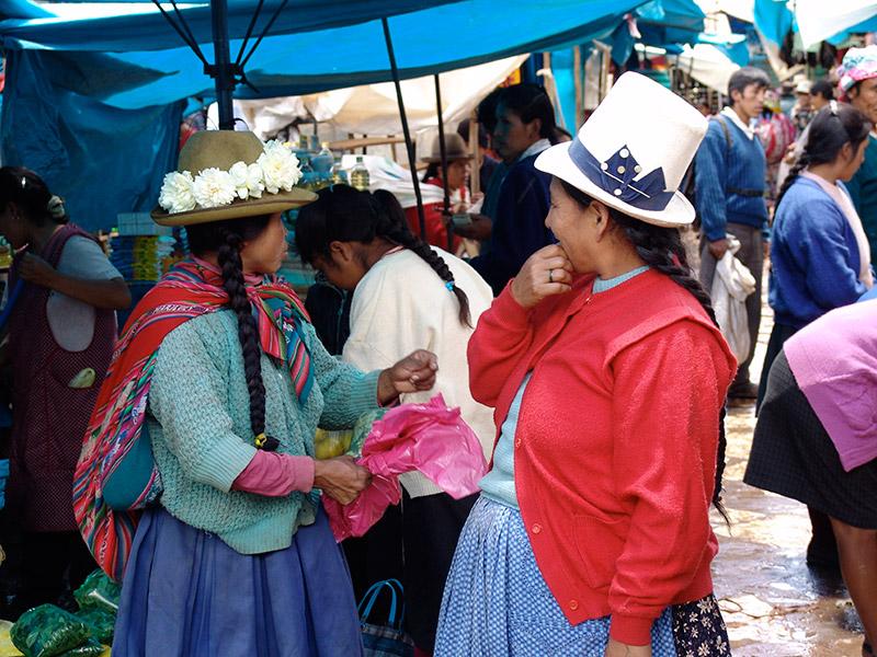 Locals of Peru