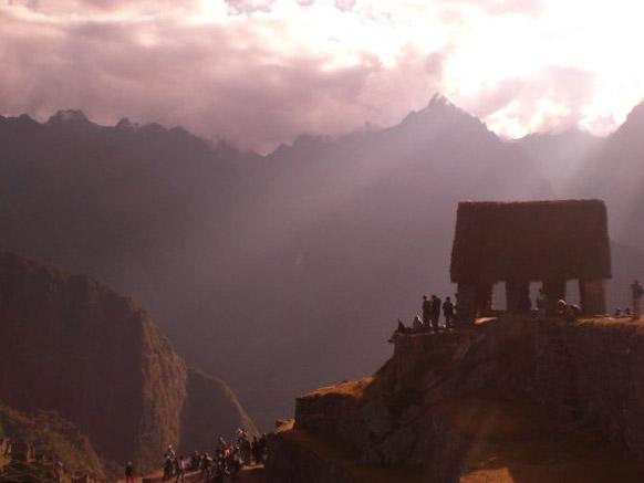 Ruins in Machu Picchu, Peru
