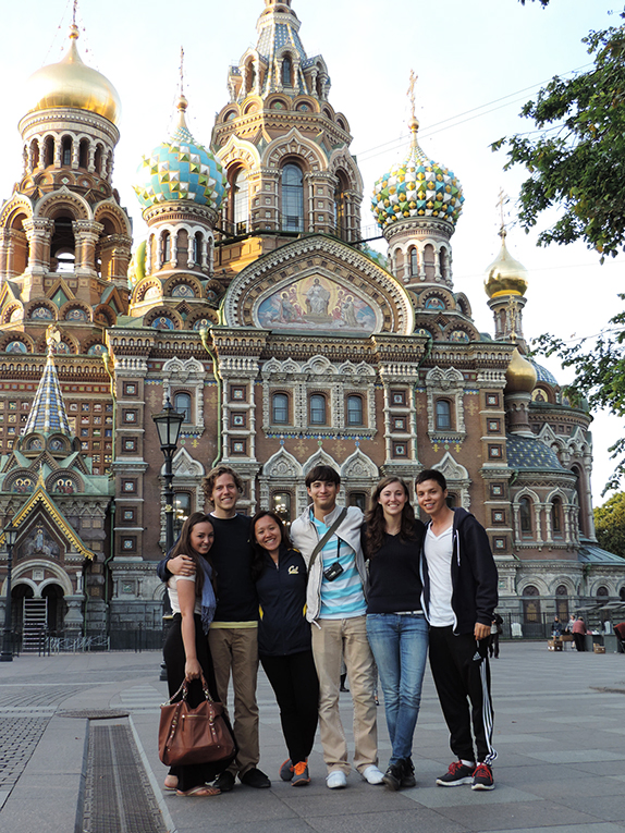 Students in Moscow, Russia