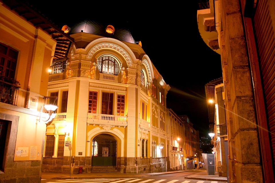 downtown quito; historic center