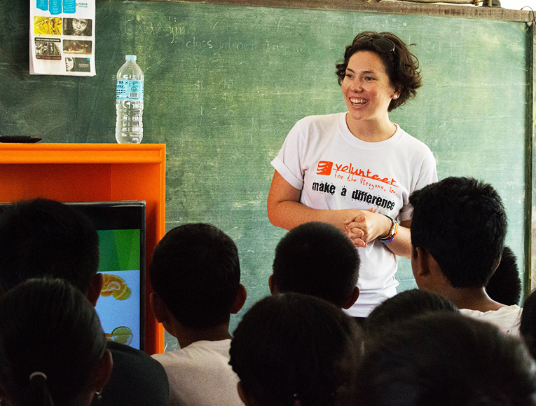 A volunteer Teacher
