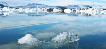 A Glacial Lake at Jokulsarlon, Iceland- bring beauty and ice together in an Icelandic study abroad experience