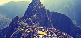 Machu-Pichu of Peru