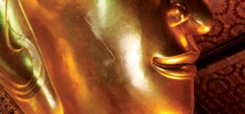 Close up of a Buddha in Thailand