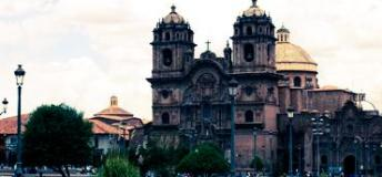 The stunning Plaza de Armas in Cusco.