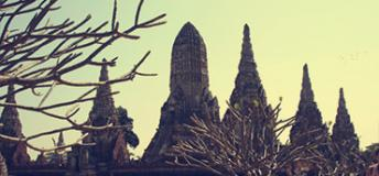 The Historic City of Ayutthaya in Thailand