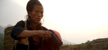 Sapa hill-tribe woman