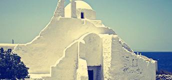 Serene sites in Mykonos, Greece