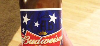 A patriotic beer on the 4th of July
