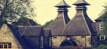 The Strathisla Distillery in Scotland.
