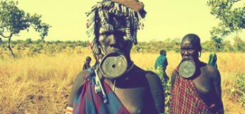 A local tribe of Ethiopia