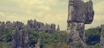 The Stone Forest in Kunming, China