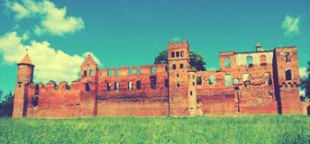 Szymbark ruins, Poland