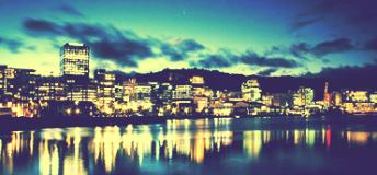 Wellington Port, New Zealand