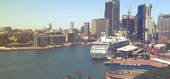 City view in Sydney, Australia