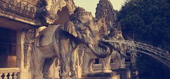 Ancient ruins in Chiang Mai, Thailand