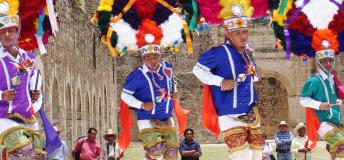 The colorful Guelaguetza dance festival