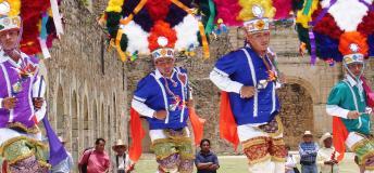The colorful Guelaguetza dance festival