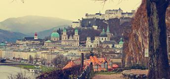 Austrian city view