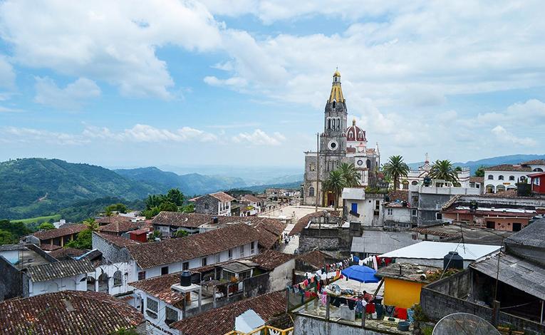 Cityscape of Puebla