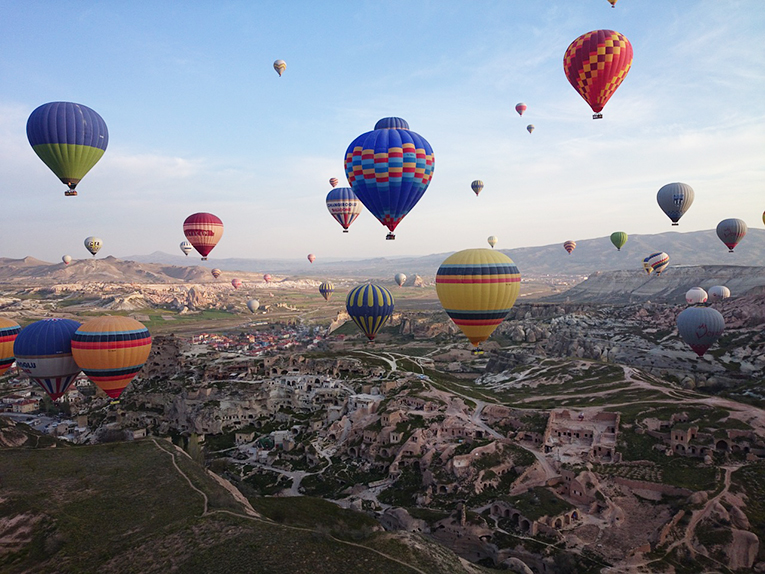 Hot Air Balloon in Cappadocia Turkey