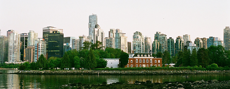 River view in Vancouver