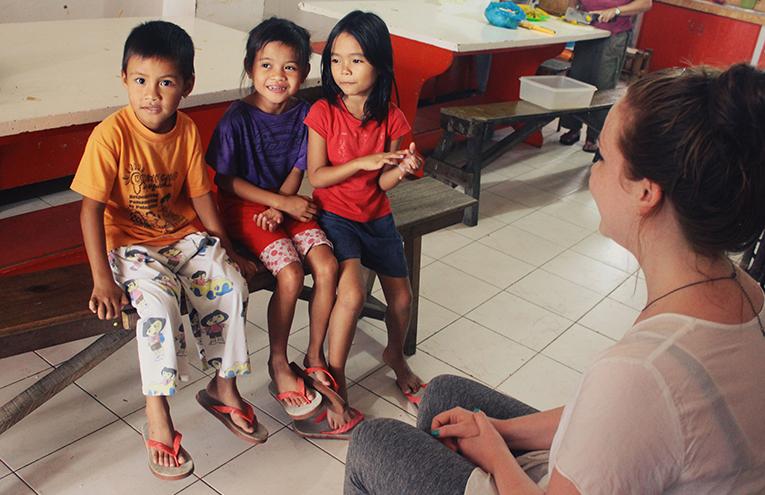 Teaching English to kids