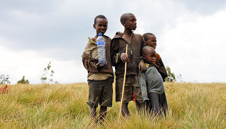 Children in Burundi